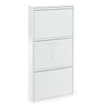 SCARPIERA SANDY BIANCA WHITE 3 RIPIANI DESIGN TOMASUCCI MADE IN ITALY