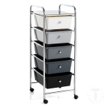 CASSETTIERA CON RUOTE AIR BIG CARRELLO ORGANIZER DESIGN TOMASUCCI ITALY